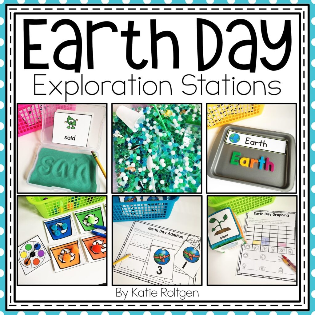 Earth Day Exploration Centers