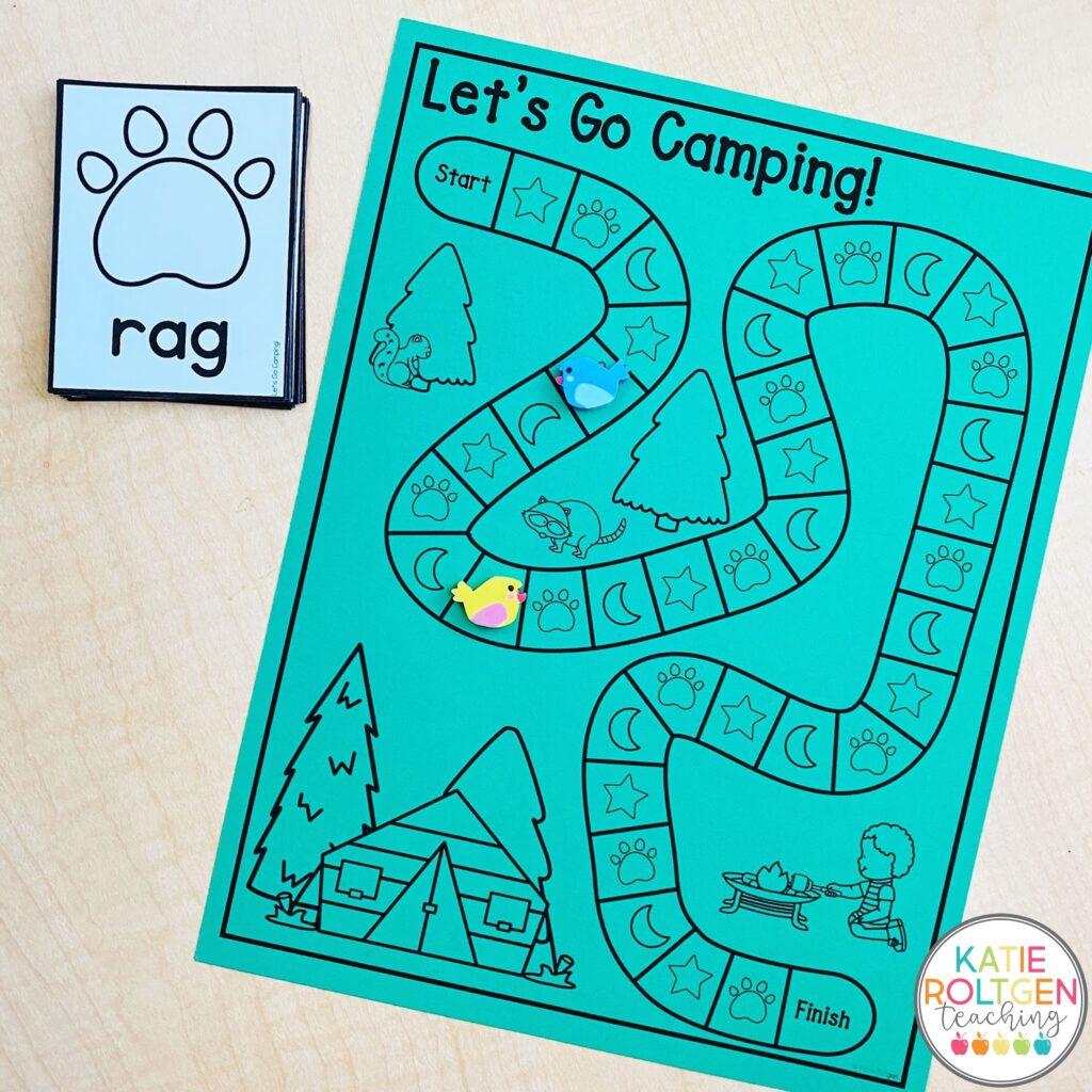 literacy games for kindergarten and preschool