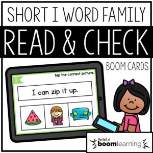 word family digital resource