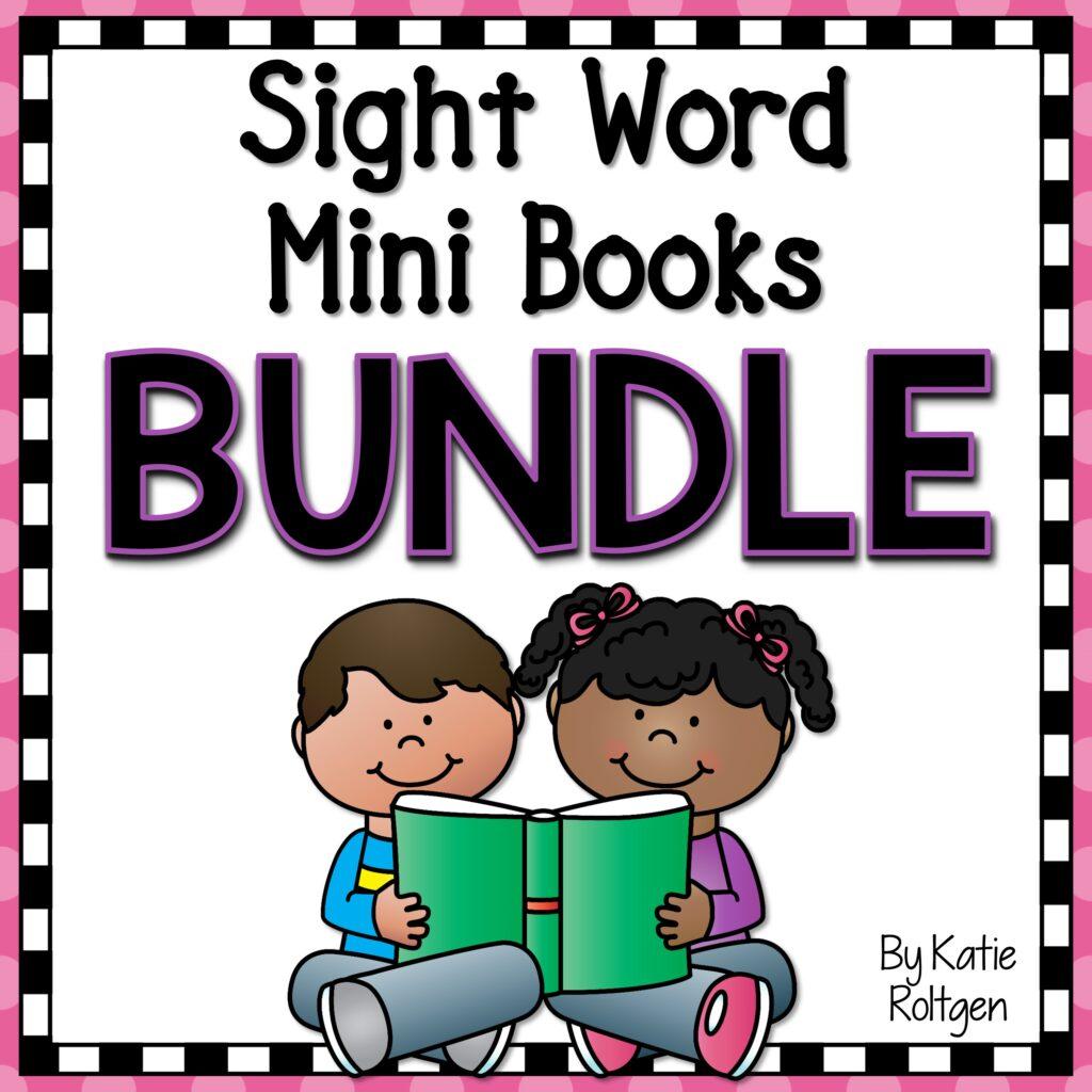kindergarten sight word mini books