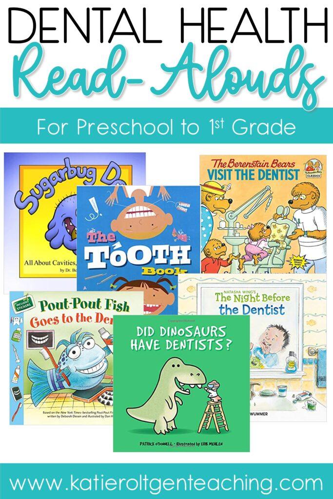 dental health books to read aloud
