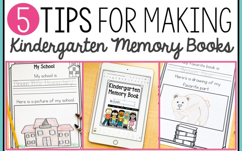 kindergarten memory book images