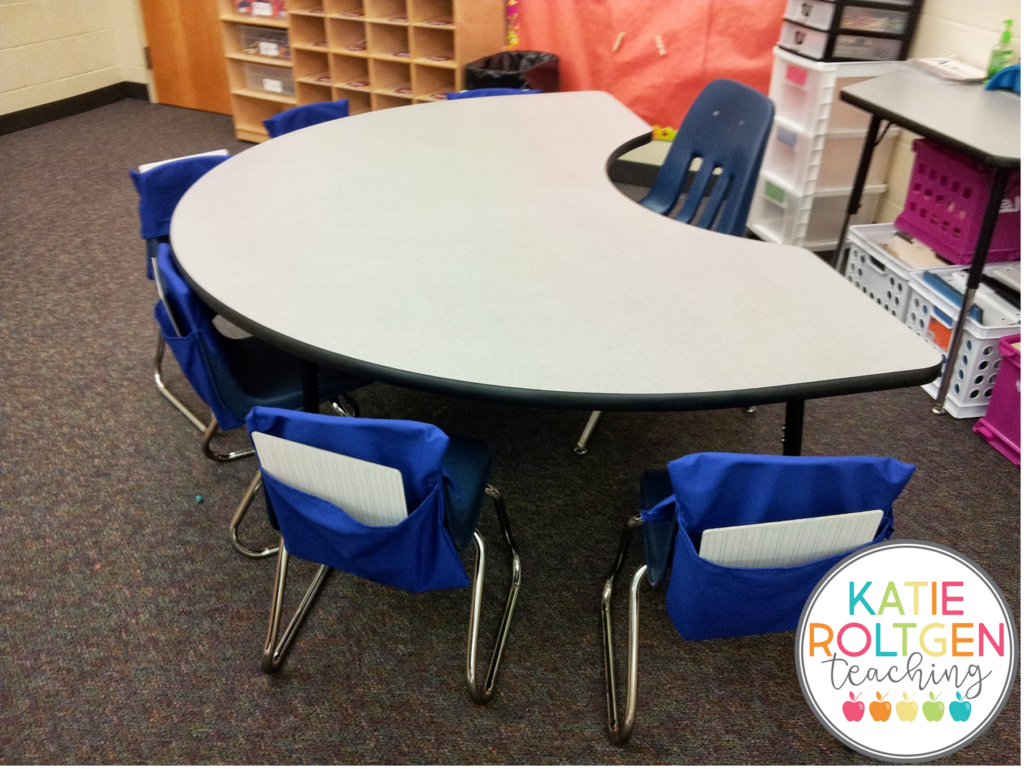 classroom supplies kindergarten guided reading table