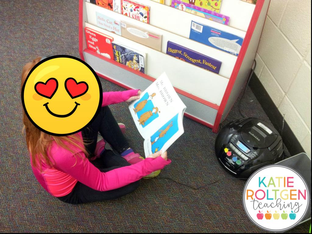 classroom supplies kindergarten literacy library