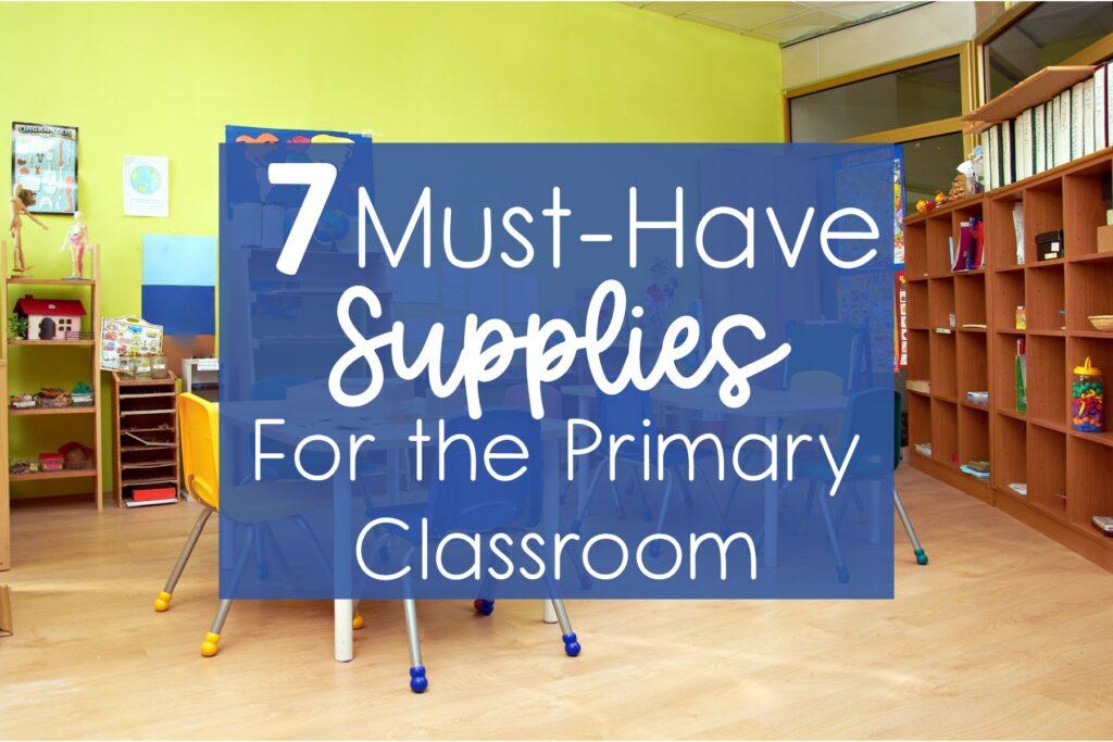 classroom supplies kindergarten